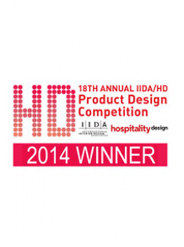 Award of Excellence IIDA/HD Product Design 2014