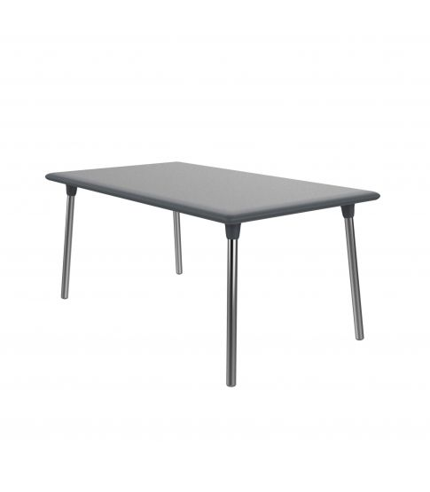 Mesa New Flash 160x90 Gris Oscuro 1x