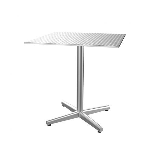 Mesa Contract Inox Ø 60 Repu. Max-4 Brillo  1x