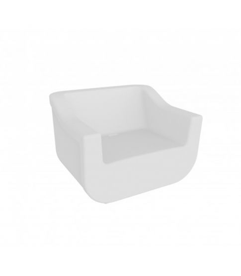 Sillon Club Blanco 1x