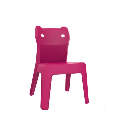 Silla Jan Cat Alta Fucsia 4x